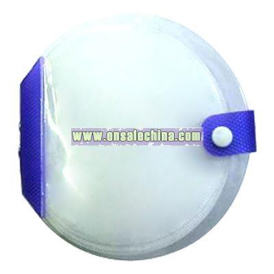 Round Pvc CD case