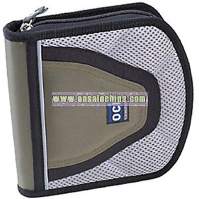 400D Nylon & Mesh CD Case
