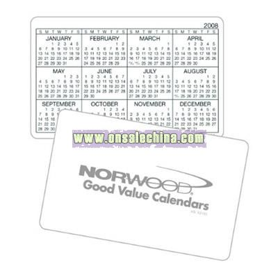 Wallet Card Horizontal