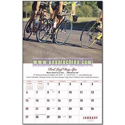 Custom Every Month Appointment 4-Color Stapled Calendar