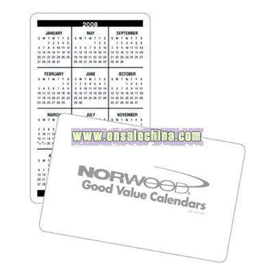 Wallet Card Vertical