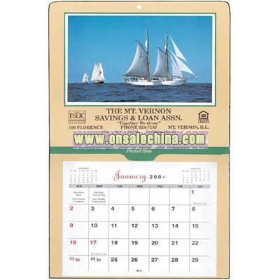 Single-Pocket Calendar