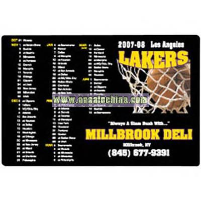 Sports magnetic schedules