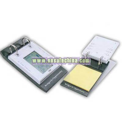 Electronic calendar pad