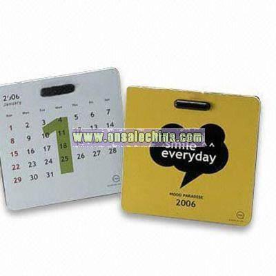 Mini Desktop Month Calendar