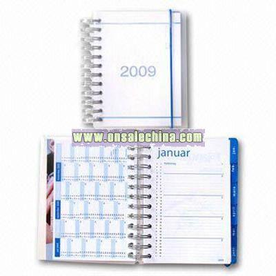 Calendar Book with Matte PP Lamination