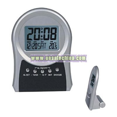 LCD Alarm Clock With Calendar and Thermometer