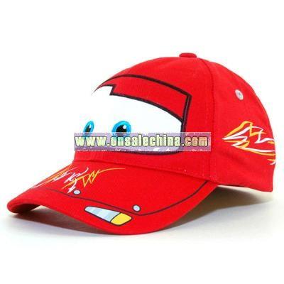 McQueen Pin Stripe Cap