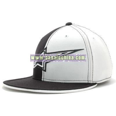 Side Star Flat Bill Flex Cap