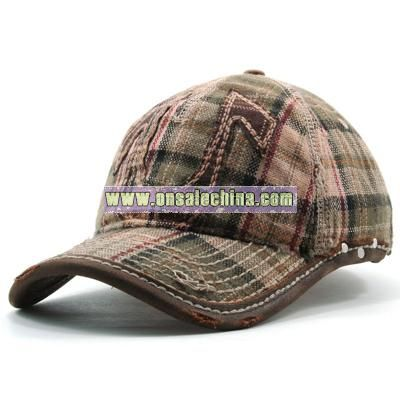 TR Plaid Horseshoe Cap