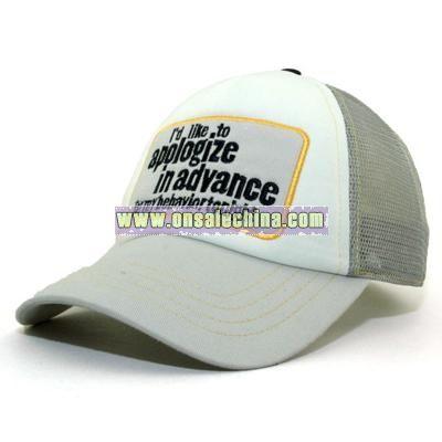 Apologize Trucker cap