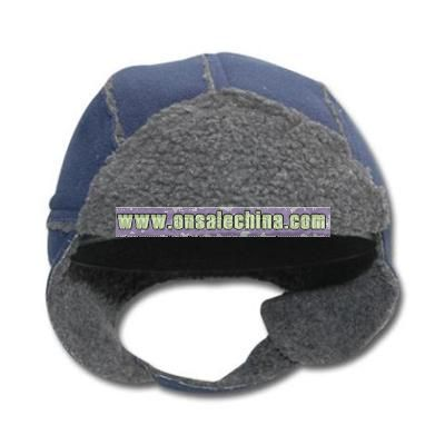 Outseemed Flap and Mitten Set cap