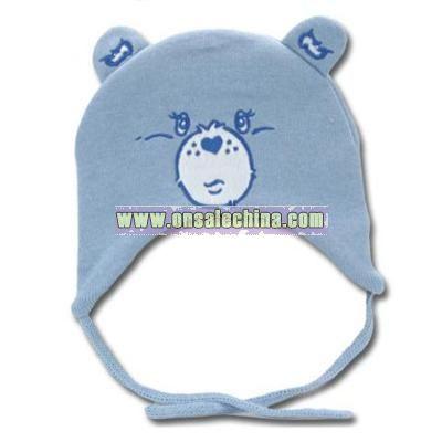 LightBlue Acrylic Knit cap