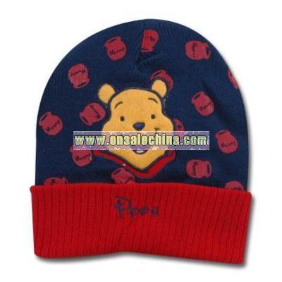 Pooh Knit cap