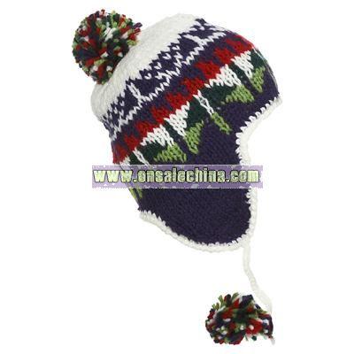 Fair Isle Ski Trapper Hat