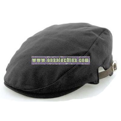 Leather Strap Ivy Cap