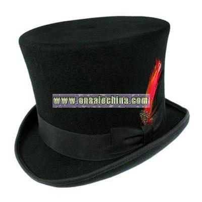 Victorian Top Hat - Black