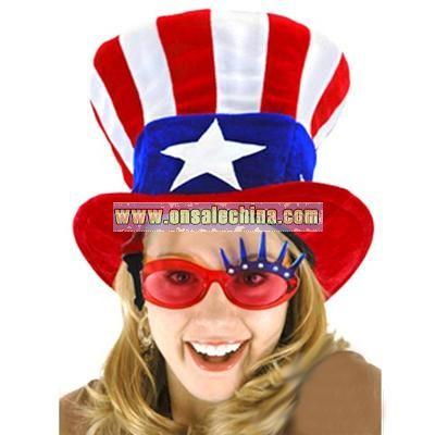 Uncle Sam Top Hat-Adult