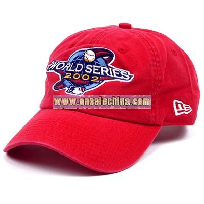2002 World Series Logo Adjustable Cap