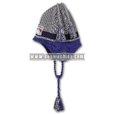 Rangers Tasselhoff Knit Hat