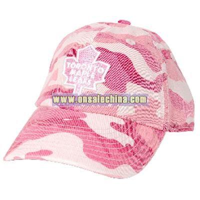 Toronto Maple Leafs Youth Agent Fox Pink Camo Cap