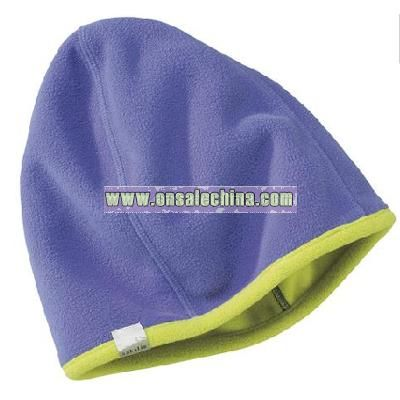 Double-Butter Hat, reversible fleece hat