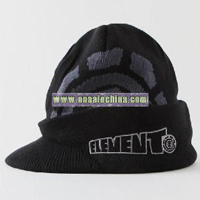 Element Techtonics Visor Beanie