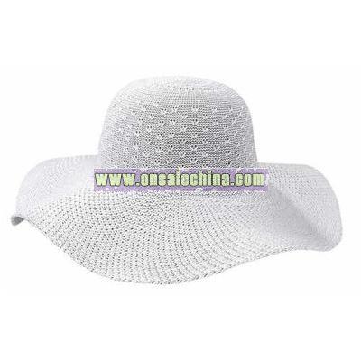 UPF 50+ Women's Packable Wide Brim Sun Hat