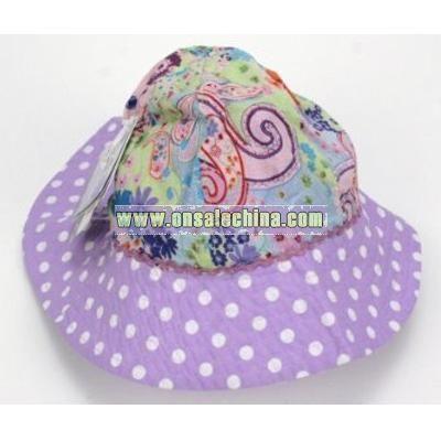Platypus Toddlers Cotton Sun Hat - UPF 50+