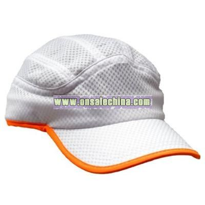 Unique Runners Reflective Cap with Reflective Trim