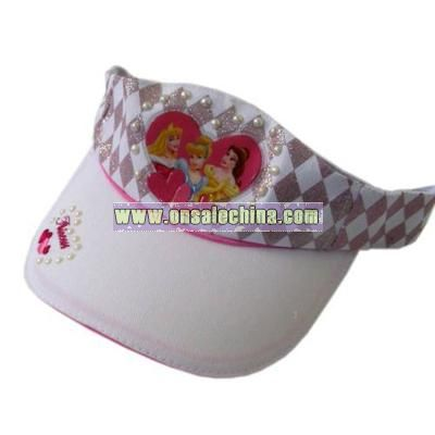 Disney Princess Visor - White Color