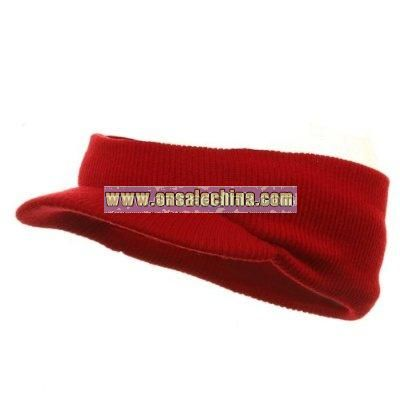 Headband Visor-Red