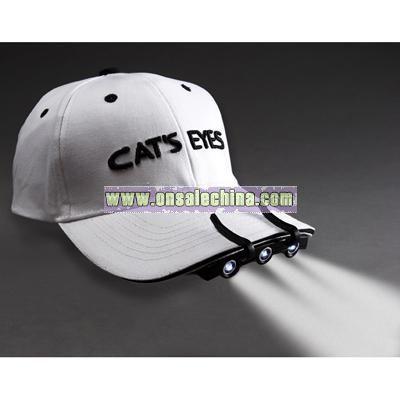 cats eyes cap light