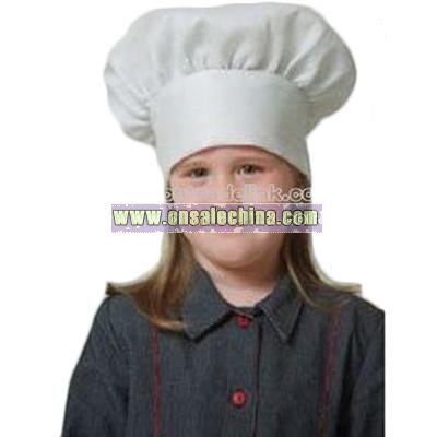 Kids White Chef Hat