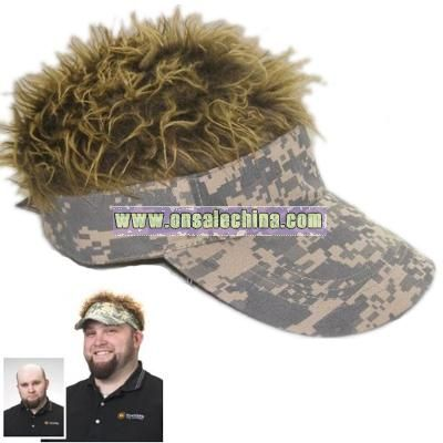 Flair Hair Visor Camo