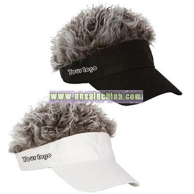6b4dcb38 Flair Hair Golf Visor Hat wholesale china| Ca9091774