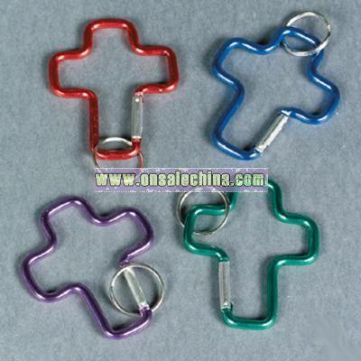 Cross Clip Key Chains