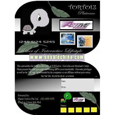 Irregular PVC Card
