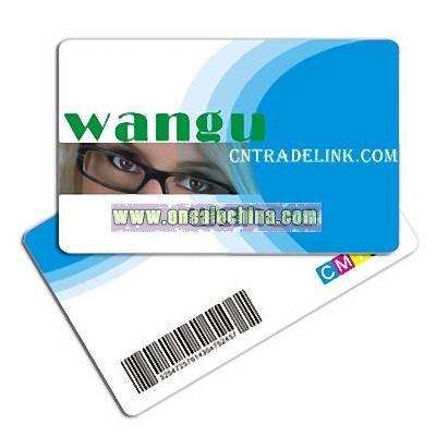 Ean Barcode Card
