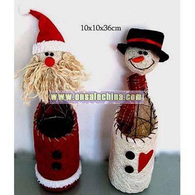 X'mas Gift - Santa Claus Snowman
