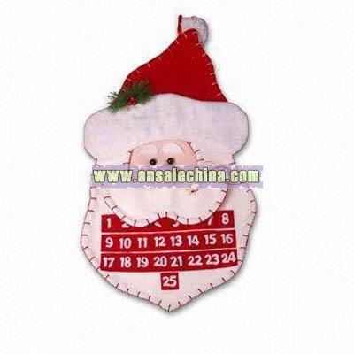 Santa Face Calendar