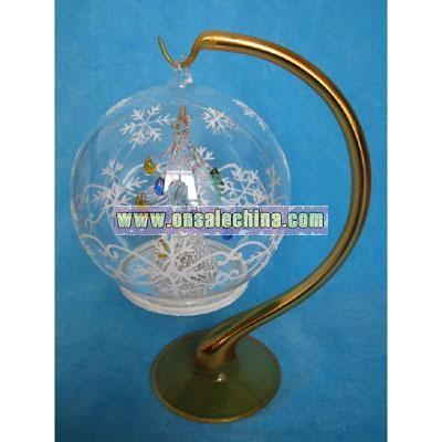 Christmas Ball With LED Light