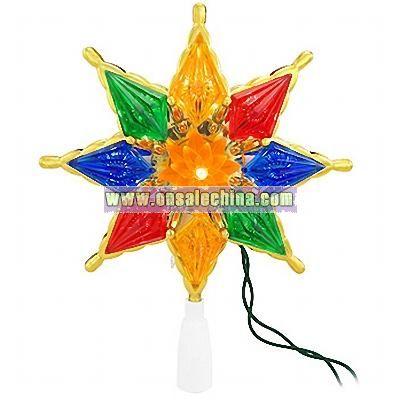 Multi Star Lighted Tree Topper