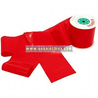 Red Poly Ribbon Bolt