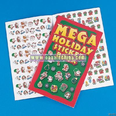 Mega Holiday Sticker Book