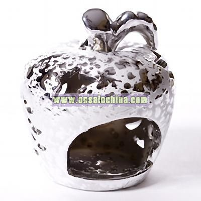 Silver Apple Votive