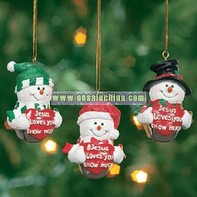 5798440010esus Loves You Snow Much5798440224Jingle Bell Ornaments