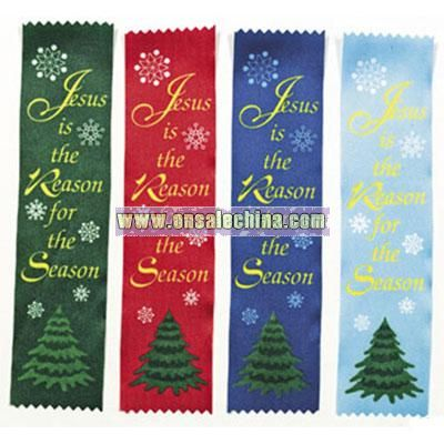 Satin 5798440010esus Is The Reason5798440224Ribbon Bookmarks