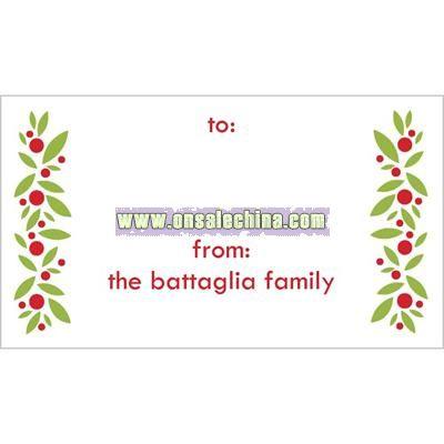 Christmas Chic Gift Tag