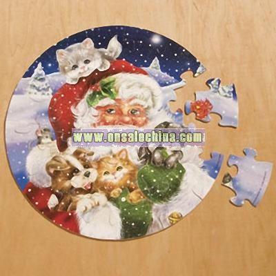 Santa Sparkle Puzzle